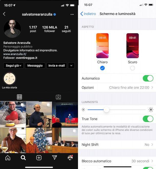 Come togliere Instagram nero iPhone