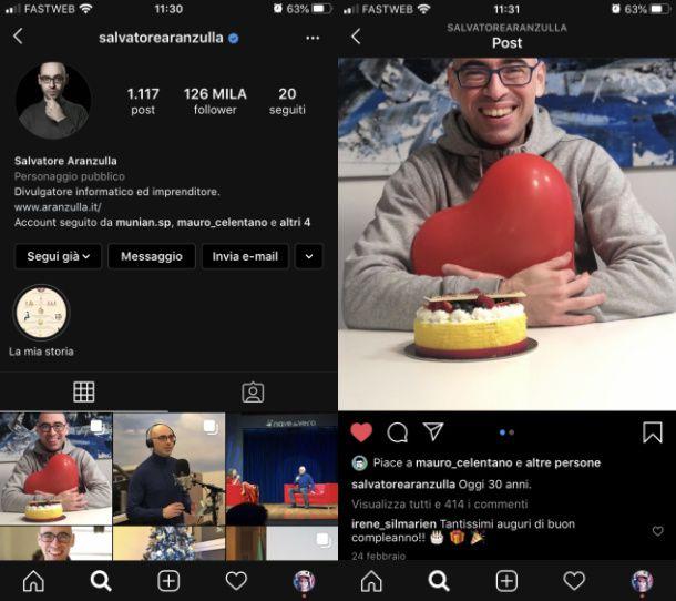Vedere post Instagram