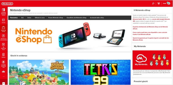 Procedura all'abbonamento a Nintendo Switch Online
