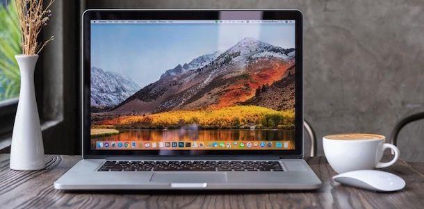Foto di un Mac