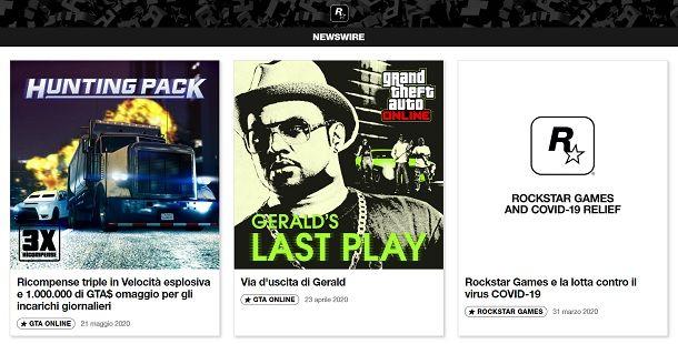 Newswire GTA Online