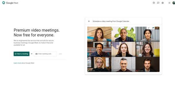 Accedere alla versione online di Google Meet