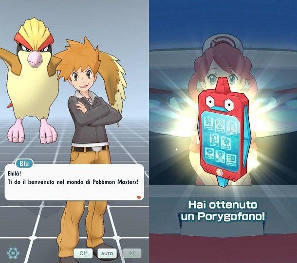 Primi passi Pokemon Masters