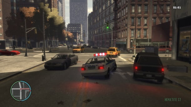 GTA 4 Polizia