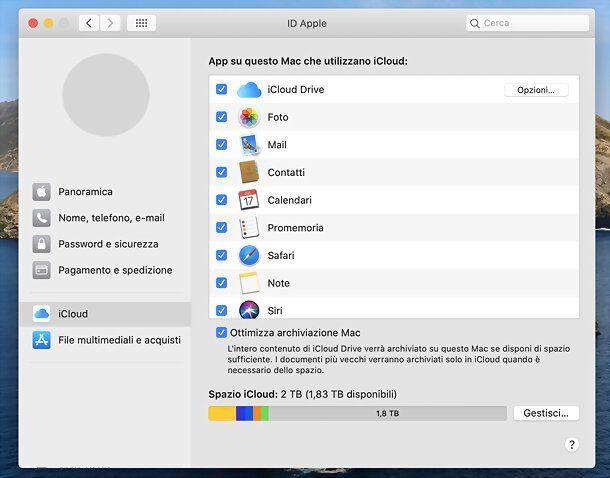 Foto di iCloud su Mac