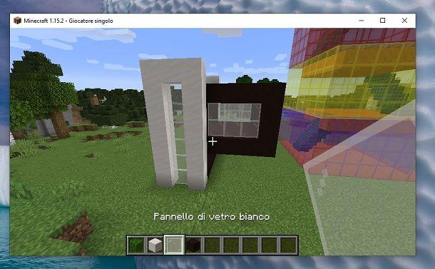 Ripeti costruzione Minecraft