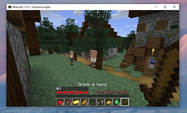 Andare Avventura Minecraft