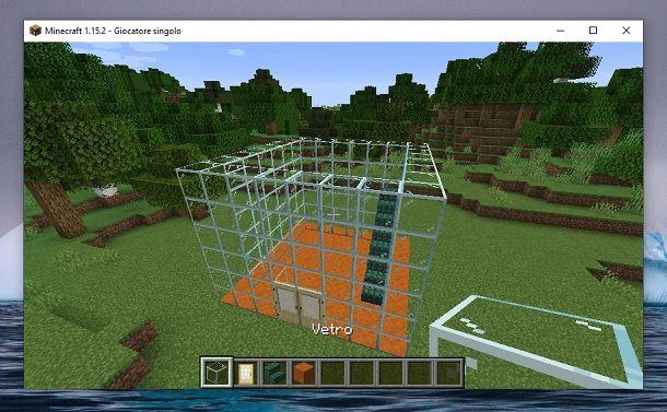 Altri blocchi vetro Minecraft