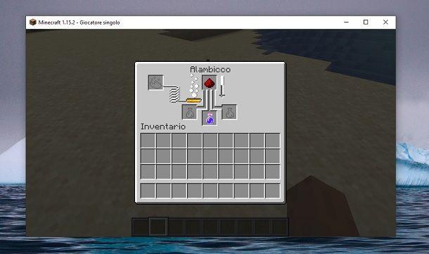 Pozione di visione notturna estesa Minecraft