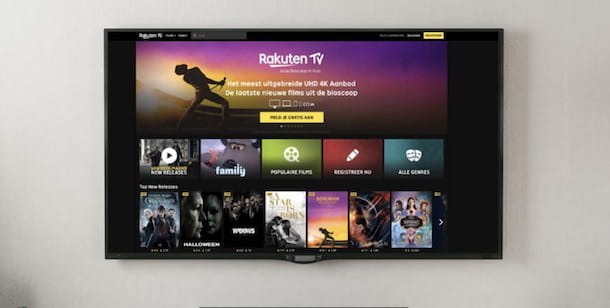 Dispositivi compatibili con Rakuten TV