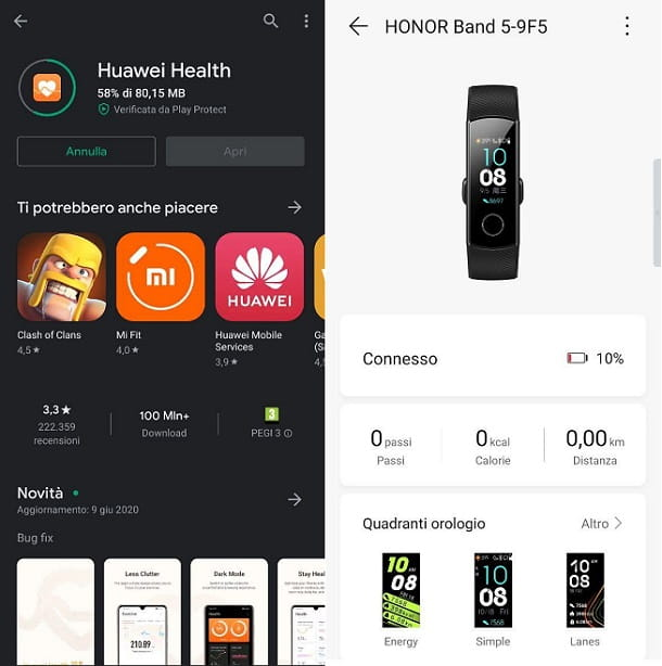 Huawei Health Android