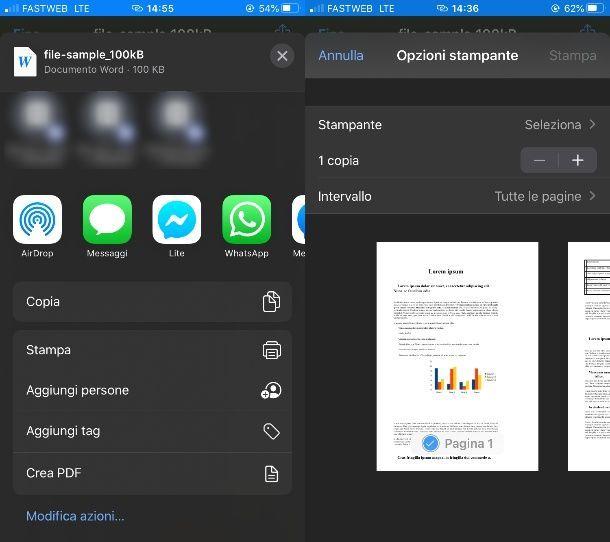 Stampante PDF per iPhone
