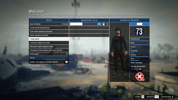 Attività in privato GTA Online