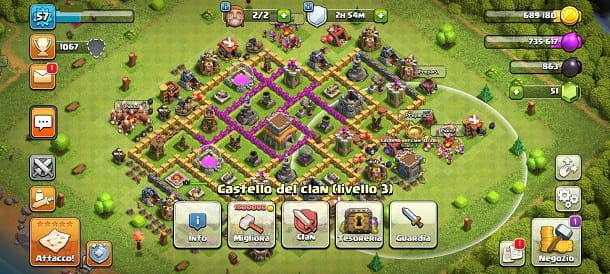Castello del clan Clash of Clans