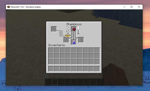 Pozione di invisibilita Minecraft