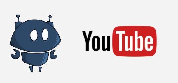 Loghi di Nightbot e YouTube