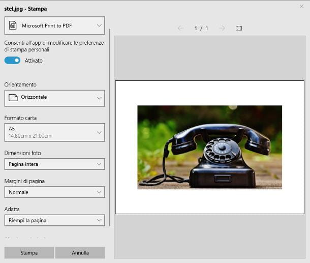 Come modificare una foto in PDF