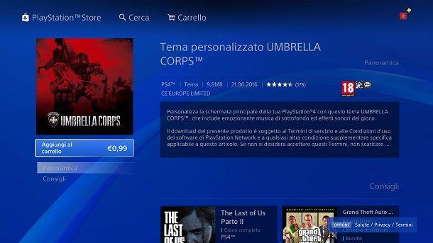 Tema Umbrella Corps PS4
