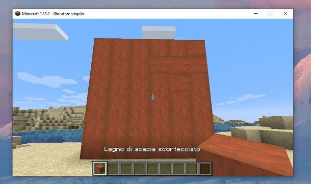 Muro Minecraft