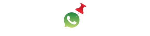 Fissare chat WhatsApp