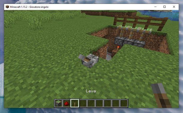 Leva Minecraft
