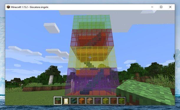 Torre di vetro Minecraft