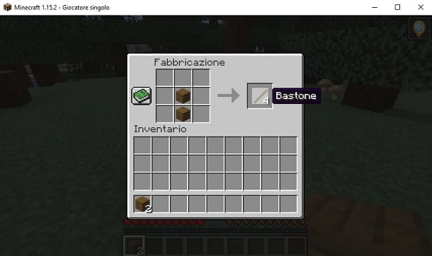 Bastoni Minecraft