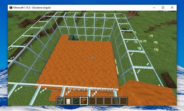 Pavimento secondo piano Minecraft