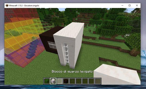 Chiudi struttura Minecraft