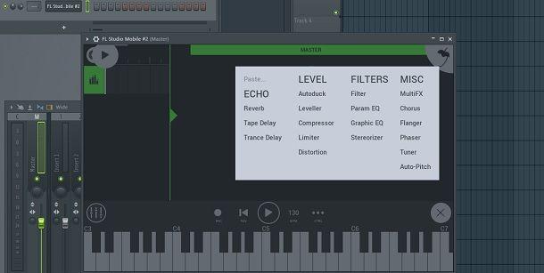 FL Studio Mobile schermata