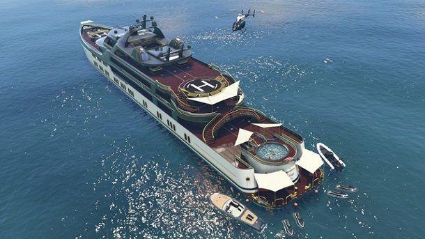 Yacht su GTA Online