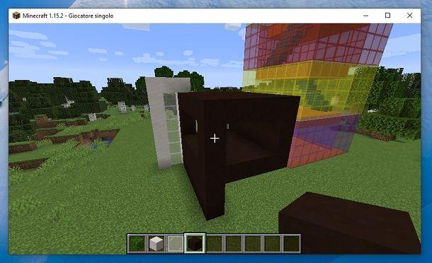 Retro struttura Minecraft