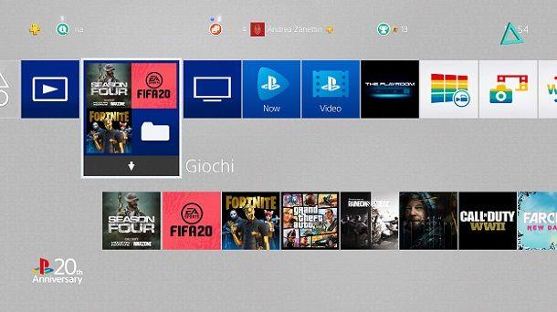 Tema anniversario PlayStation
