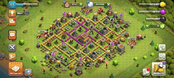 Villaggio Clash of Clans
