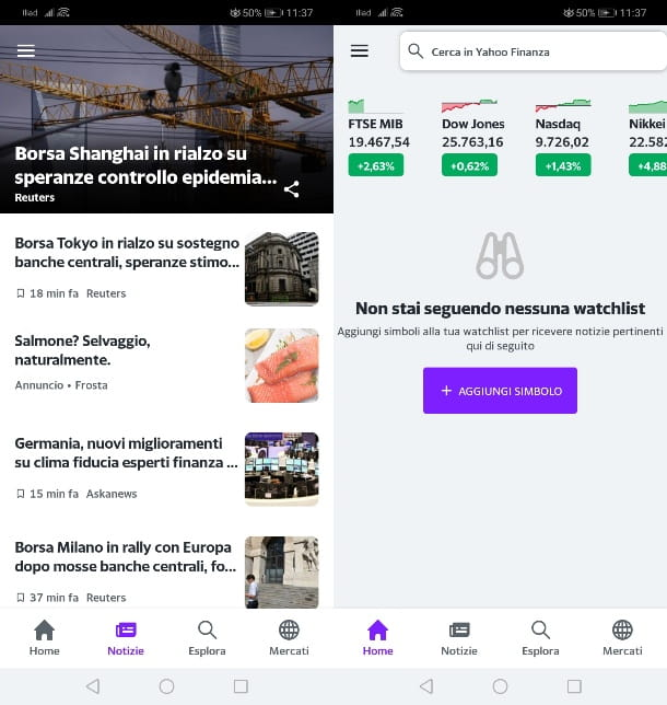 Yahoo Finanza