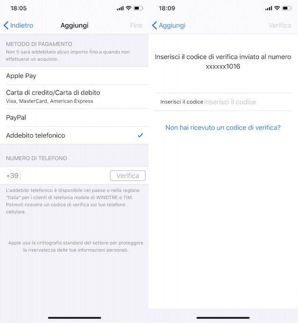 Come caricare App Store con credito telefonico