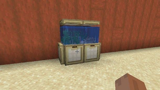 Acquario Minecraft