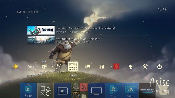 Tema speranza Arise PS4