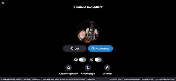 Come fare una videoconferenza multipla con Skype