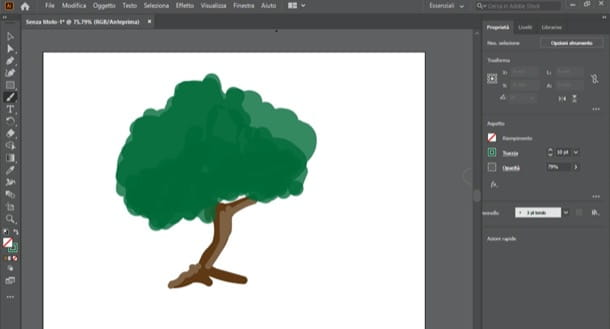 Colorare disegno su Photoshop