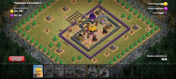 Villaggio avversario Clash