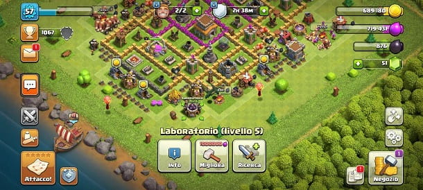Laboratorio Clash of Clans