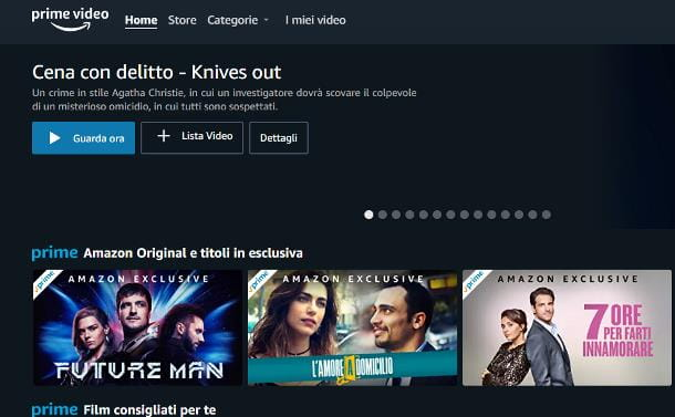 Come attivare Amazon Prime Video gratis