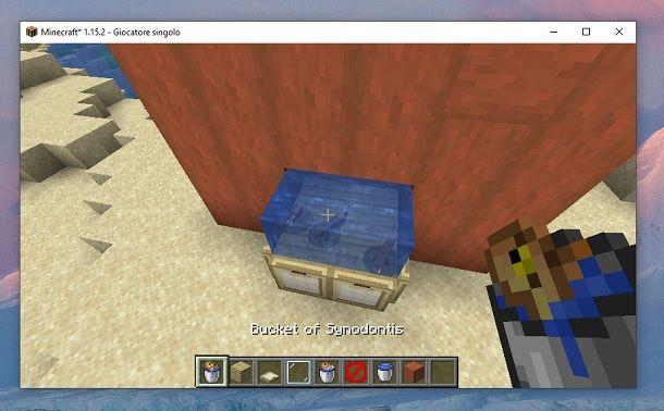 Oggetto Mod Minecraft
