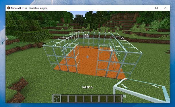 Vetro Minecraft
