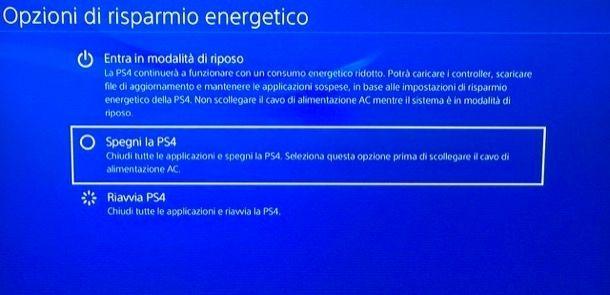 Usare il download in modalità riposo di PS4