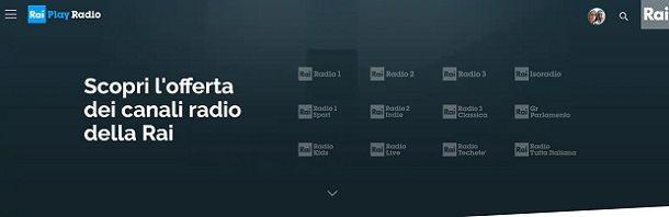 Rai play radio 2