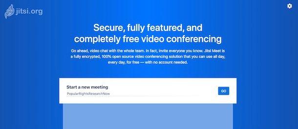 Come scaricare Jitsi Meet sul PC