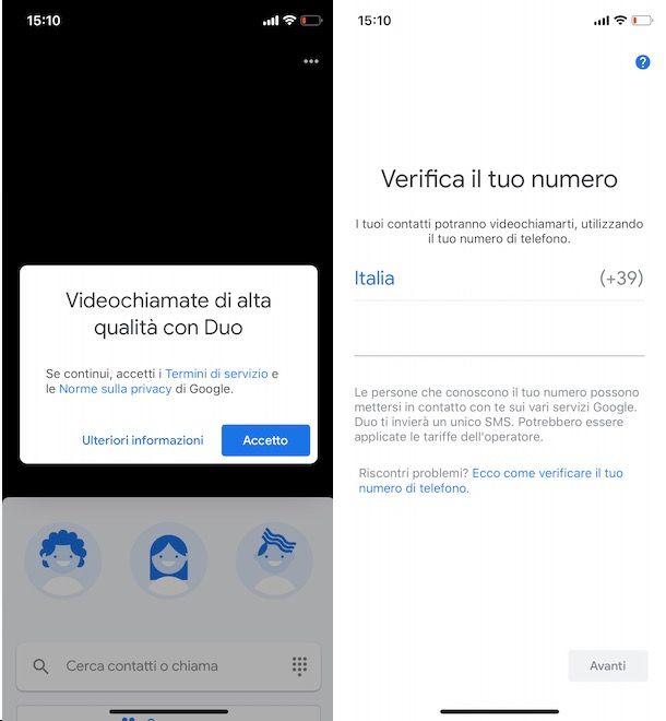 Come funziona Google Duo su smartphone e tablet