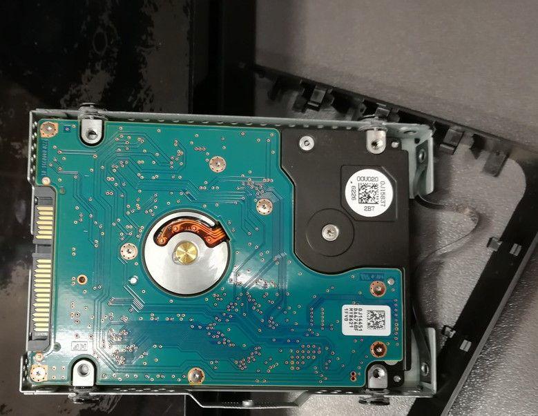 Hard disk originale della PS4